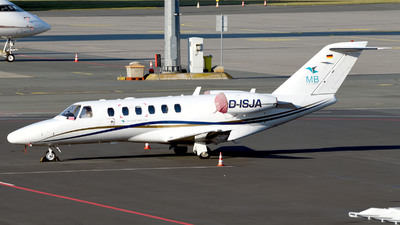 D-ISJA - Cessna 525 CitationJet 1 - MB Flight Services