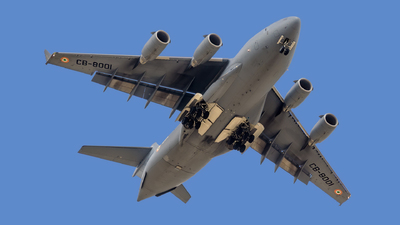 CB8001 - Boeing C-17A Globemaster III - India - Air Force