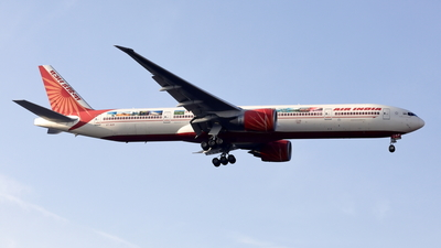 A picture of VTALN - Boeing 777337(ER) - Air India - © Mitsuhiro Yamamoto