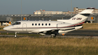 CS-DRD - Raytheon Hawker 800XP - NetJets Europe