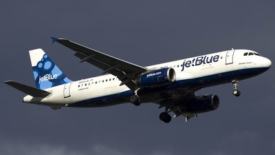 N506JB - Airbus A320-232 - jetBlue Airways