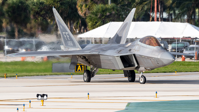 08-4156 - Lockheed Martin F-22A Raptor - United States - US Air Force (USAF)