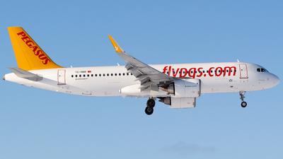 TC-NBR - Airbus A320-251N - Pegasus Airlines