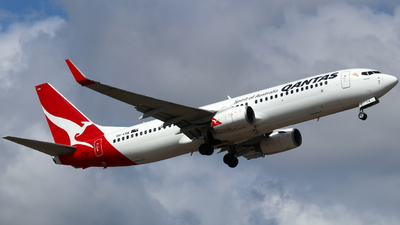 A picture of VHVXB - Boeing 737838 - Qantas - © Robbie Mathieson