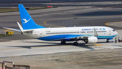A picture of B5386 - Boeing 73786N - Xiamen Air - © Cheng Wei Ho