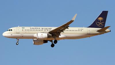 HZ-AS52 - Airbus A320-214 - Saudi Arabian Airlines