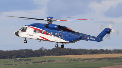A picture of GIACC - Sikorsky S92A Helibus - Bristow Helicopters - © Tartanpics