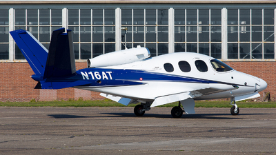 N16AT - Cirrus Vision SF50 G2 - Private