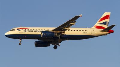 A picture of GEUUF - Airbus A320232 - British Airways - © AvA