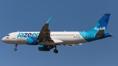 9K-CBA - Airbus A320-251N - Jazeera Airways