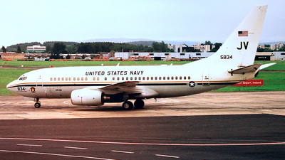 165834 - Boeing C-40A Clipper - United States - US Navy (USN)