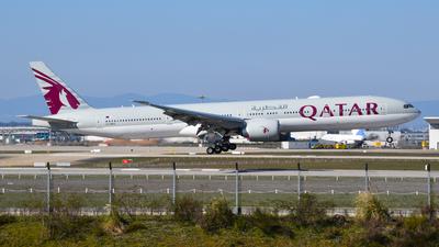 A picture of A7BES - Boeing 7773DZ(ER) - Qatar Airways - © balducci aurelien