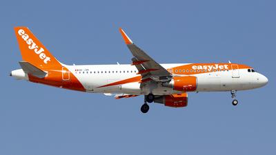 HB-JXK - Airbus A320-214 - easyJet Switzerland