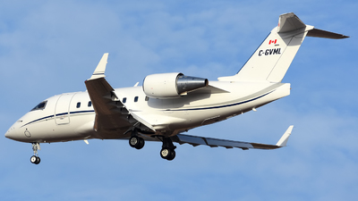 A picture of CGVML - Bombardier Challenger 604 -  - © Alejandro Hern�ndez Le�n