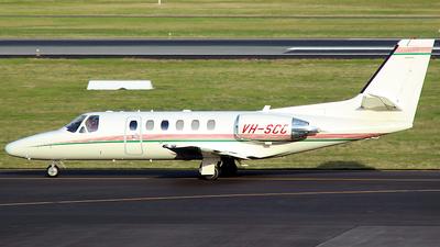 A picture of VHSCC - Cessna 550 Citation Bravo - [5501058] - © Robbie Mathieson
