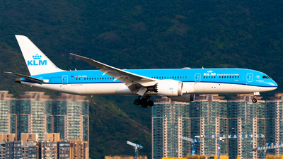 A picture of PHBHG - Boeing 7879 Dreamliner - KLM - © Ka Hung Yue