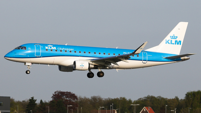 PH-EXX - Embraer 170-200STD - KLM Cityhopper