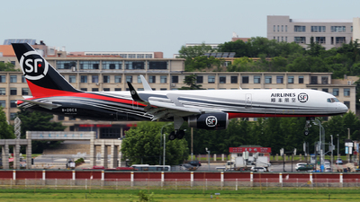 B-20CX - Boeing 757-236(PCF) - SF Airlines