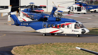 A picture of GCGYW - Sikorsky S92A Helibus - Bristow Helicopters - © R.Rimestad
