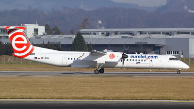 SP-EQH - Bombardier Dash 8-Q402 - EuroLOT
