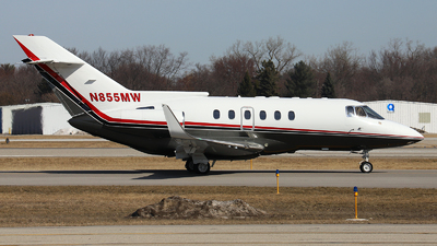 N855MW - Raytheon Hawker 800 - Private