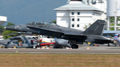 M45-02 - McDonnell Douglas F/A-18D Hornet - Malaysia - Air Force