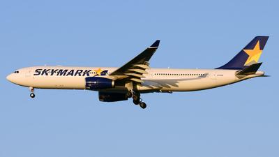 JA330B - Airbus A330-343 - Skymark Airlines