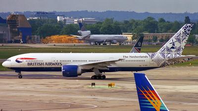 G-VIIU - Boeing 777-236(ER) - British Airways