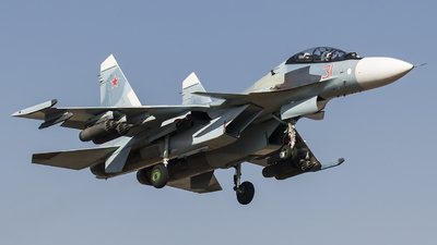 RF-92214 - Sukhoi Su-30SM - Russia - Air Force