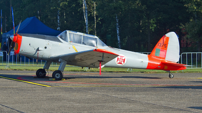 A picture of FAZJV - De Havilland DHC1 Chipmunk - [1375] - © Dutch