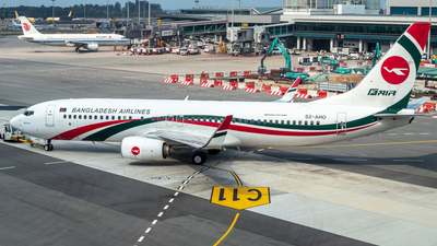 A picture of S2AHO - Boeing 7378E9 - Biman Bangladesh Airlines - © yen hng