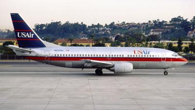 N533AU - Boeing 737-3B7 - USAir