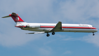 I-SMEP - McDonnell Douglas MD-82 - Meridiana