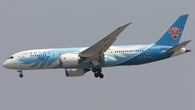 A picture of B2733 - Boeing 7878 Dreamliner - China Southern Airlines - © jehrenstoneman