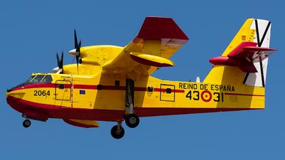 A picture of UD.1401 - Bombardier CL415 -  - © Enrique Rubira