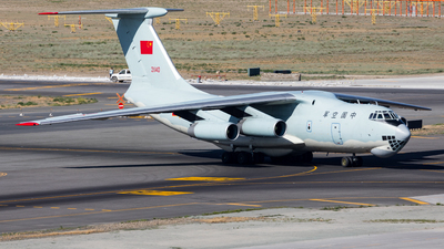 21140 - Ilyushin IL-76MD - China - Air Force