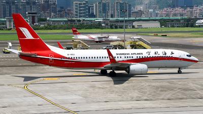 B-1452 - Boeing 737-89P - Shanghai Airlines