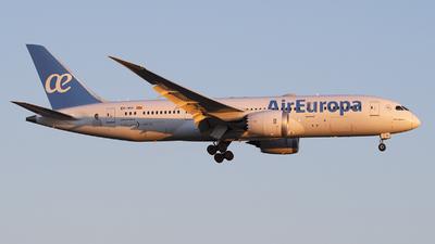 A picture of ECMIH - Boeing 7878 Dreamliner - Air Europa - © Jose R. Ortiz