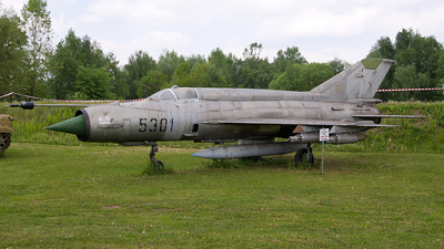 5301 - Mikoyan-Gurevich MiG-21MF Fishbed J - Czechoslovakia - Air Force
