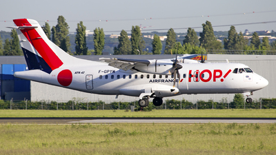 F-GPYM - ATR 42-500 - HOP! for Air France