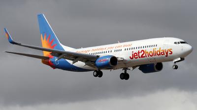 A picture of GJZHA - Boeing 7378K5 - Jet2 - © Alfonso Solis