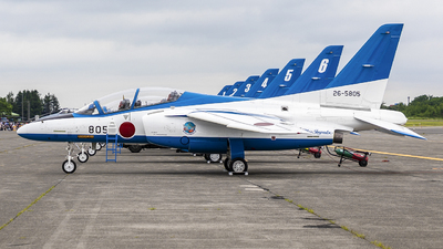 26-5805 - Kawasaki T-4 - Japan - Air Self Defence Force (JASDF)