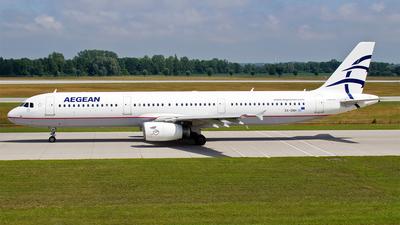 SX-DNH - Airbus A321-231 - Aegean Airlines