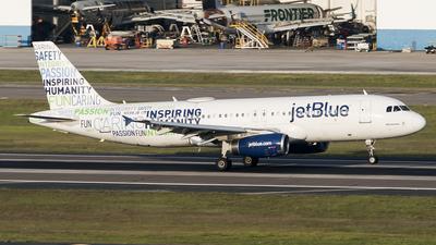N598JB - Airbus A320-232 - jetBlue Airways