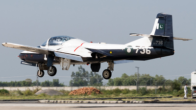 67-736 - Cessna T-37B Tweety Bird - Pakistan - Air Force