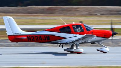 N224JM - Cirrus SR22T-GTS - Private