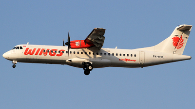 PK-WHM - ATR 72-212A(600) - Wings Air