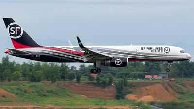 A picture of B1257 - Boeing 7572B7(PCF) - SF Airlines - © SZ4509