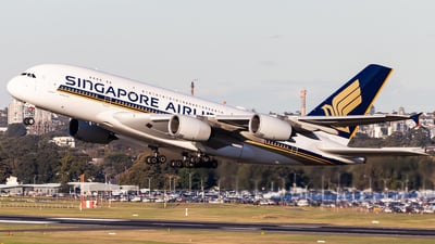 9V-SKY - Airbus A380-841 - Singapore Airlines