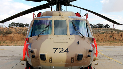 724 - Sikorsky S-70A-55 Yanshuf 3 - Israel - Air Force